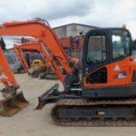 Daewoo Doosan Dx85r-3 Mini Crawler Excavator Service Parts Catalogue Manual
