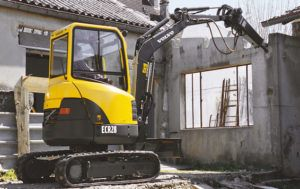 Volvo Ecr28 Compact Excavator Service Parts Catalogue Manual