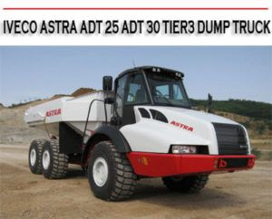 Astra Adt 25 Tier3 Dump Truck Factory Service Manual