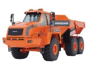 Doosan Da30-5 Dump Service Repair Workshop Manual