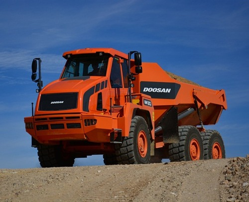 Doosan Da30 Articulated Dump Truck Service Repair Workshop Pdf Manual