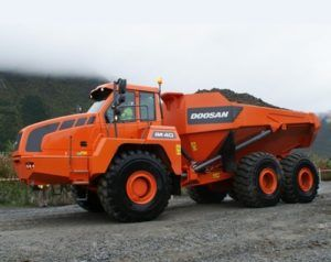 Doosan Da40 Articulated Dump Service Repair Workshop Manual
