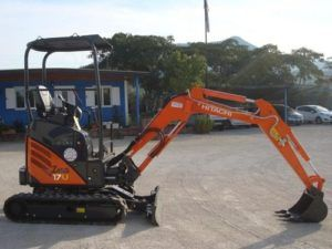 Hitachi Zaxis Zx 17u-2 Excavator Service Repair Pdf Manual
