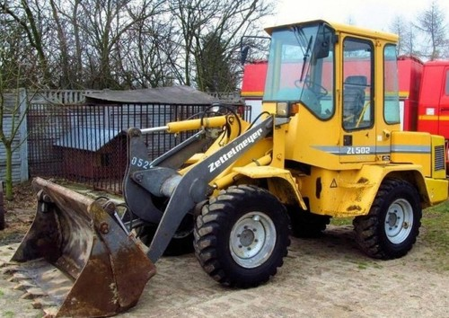 Volvo Zl502c Compact Wheel Loader Service Parts Manual
