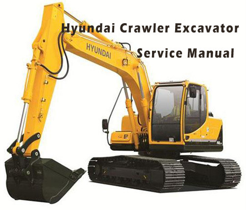 Hyundai Crawler Excavator R55-7 Workshop Service and Operating Manual