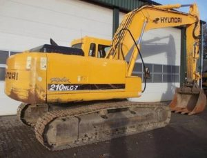 Hyundai R210nlc-7 Crawler Excavator Workshop Service and operating Manual