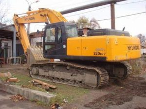 Hyundai R320LC-7 Crawler Excavator Workshop Service Manual