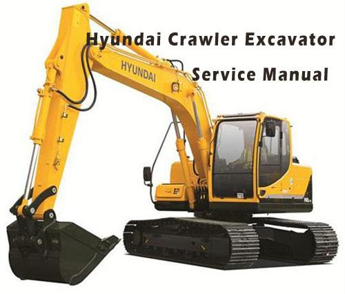 Hyundai R320LC-9 Crawler Excavator Workshop Repair Service Pdf Manual
