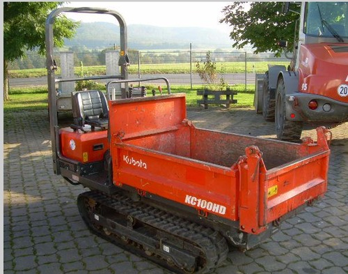Kubota KC100HD Dumper Workshop Service Repair Manual