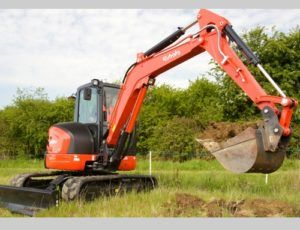 Kubota U48-4, U55-4 Excavator Factory Service Repair Manual