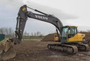 Volvo EC180C L EC180CL Excavator Workshop Service Parts Catalogue Manual