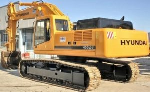 Hyundai Crawler Excavator R450lc-7 Service Operating Pdf Manual
