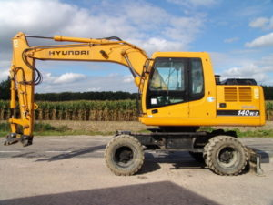 hyundai crawler excavator robex 140w-7 r140w-7 operating manual