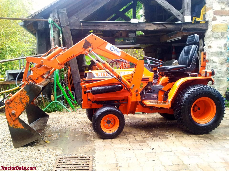 Kubota B1550 B1750 B2150 Workshop Tractor Service Manual