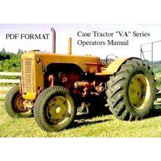Case C D L La R S V Va Series Tractor Service Repair Manual