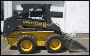 New Holland Ls160 Ls170 Operators Manual Skid Steer Loader
