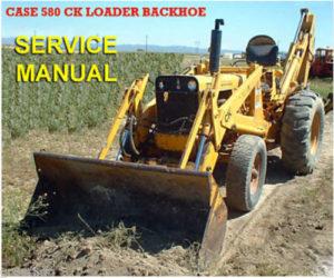 Case 580ck Loader Backhoe Tractor Parts Manual – Equipment