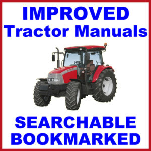 Case IH CX 50 60 70 80 90 100 Factory Repair Service Manual
