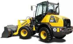 Komatsu WA65, WA75, WA80 Wheel Loader Workshop Service Manual