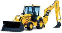 Komatsu WB91, WB93 Backhoe Loader Repair Service Manual