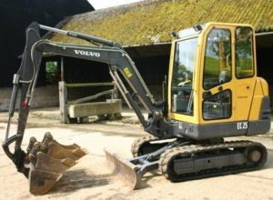 Volvo Ec-25 Compact Excavator Workshop Service Repair Manual