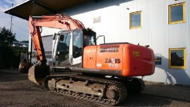 Hitachi Zaxis 210h-3 Hydraulic Cat Excavator Service Manual