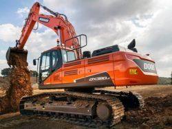 Daewoo Doosan Dx380lc-3 Crawler Excavator Service Catalogue Manual