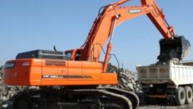 Daewoo Doosan Dx480lca Dx500lca Crawler Excavator Service Parts Catalogue Manual