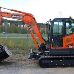 Daewoo Doosan Dx60r Mini Crawler Excavator Service Parts Catalogue Manual