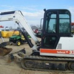 BOBCAT X337, X341 EXCAVATOR WORKSHOP SERVICE REPAIR MANUAL
