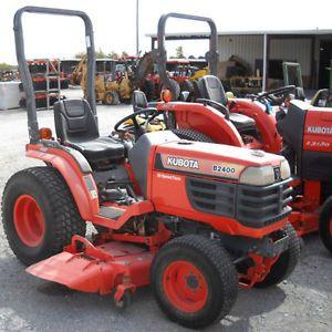 Kubota B1700 B2100 B2400 Tractor Workshop Service Repair Manual