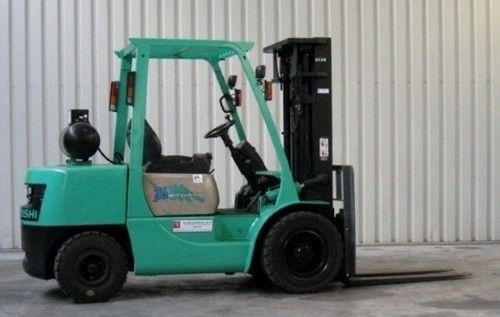 Mitsubishi FG20 FG25 FG30 FG35A Forklift Trucks Service Repair Workshop Manual