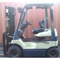 Toyota Electric Forklift Truck 5FB-Series Workshop Service Manual