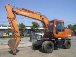 Hitachi Ex100wd-2 Wheeled Excavator Service Manual