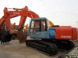 Hitachi EX200-3 EX200LC-3 EX200H-3 EX200LCH-3 Excavator Parts Catalog Manual