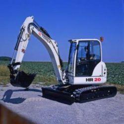 Terex Hr 20 Mini Excavator Factory Service Manual