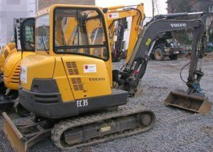 Volvo EC35 Compact Excavator Service Parts Catalogue Pdf Manual