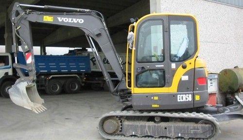 Volvo Ecr58 Excavator Service Repair Manual