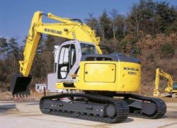 Kobelco Holland E175B, E195B Tracked Crawler Excavator Factory Service Repair Manual