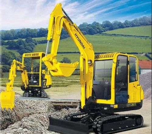 Hyundai Crawler Mini Excavator Robex 15-7 Operating Manual
