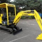 Hyundai Crawler Mini Excavator Robex 16-7 Operation Manual