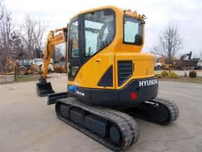 Hyundai Crawler Mini Excavator Robex 16-9 Operating Manual