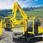 Hyundai Crawler Mini Excavator Robex 75-7 Operating Manual