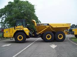 KOMATSU HM350-1L ARTICULATED DUMP TRUCK SERVICE SHOP MANUAL