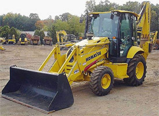 Komatsu WB146PS-5 Backhoe Loader Workshop Service Repair Manual