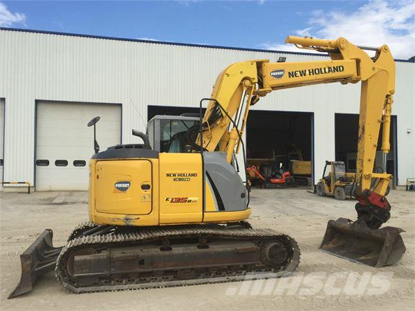 New Holland E135BSR Hydraulic Excavator Service Repair Workshop Manual