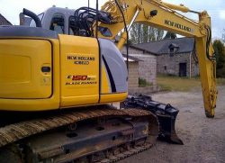 New Holland E150BSR Blade Runner Excavator Service Repair Manual