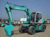 Kobelco SK100W-2 Wheel Excavator Service Repair Shop Manual