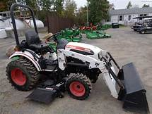 Bobcat CT122 Compact Tractor Operation and Maintenance Manual