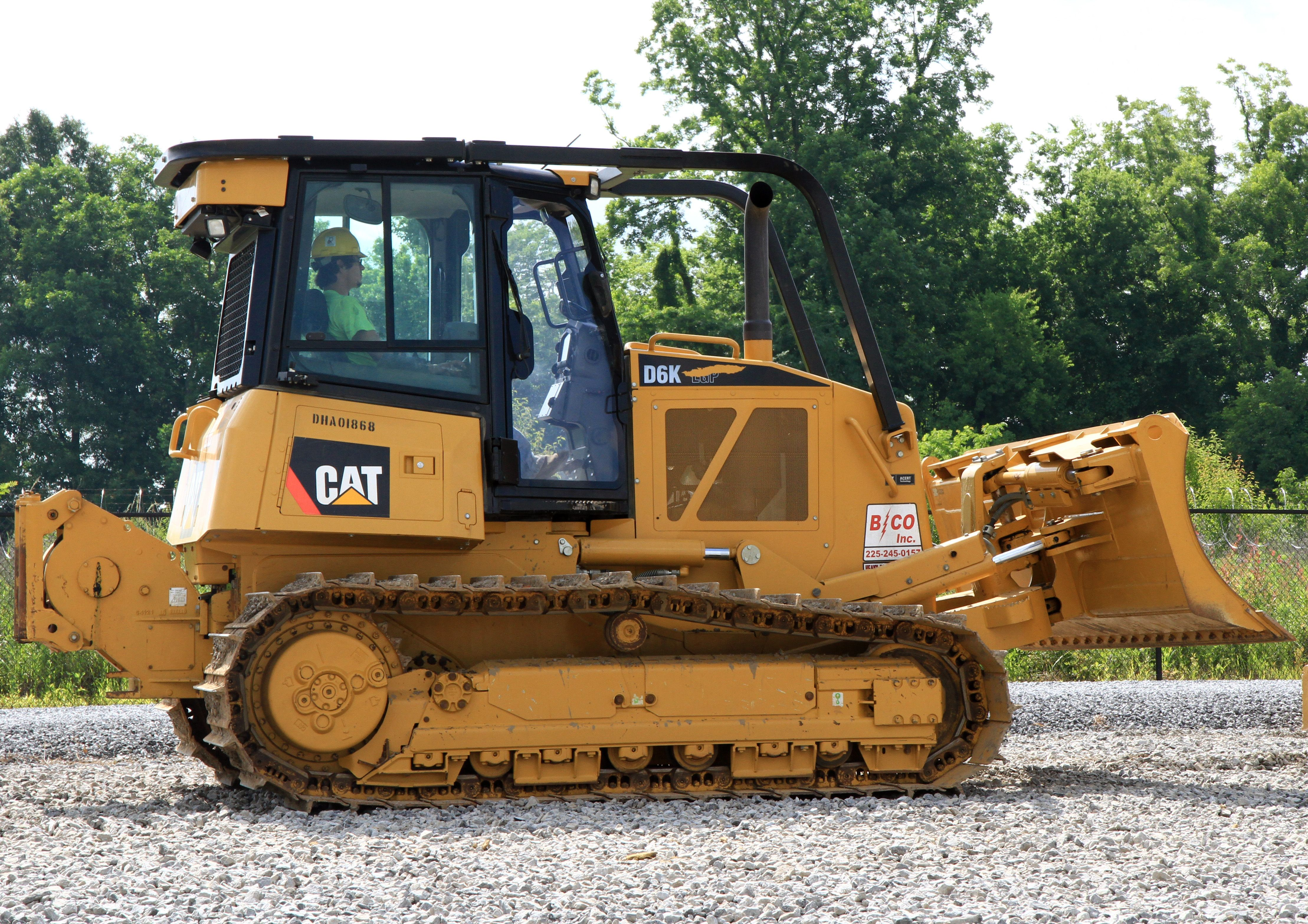 Caterpillar Cat D6K Track-Type Tractors Hydraulic   and Electric Schematic Manual